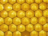 Backlit Honeycomb