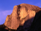 View of Half Dome at Sunset