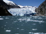 Sawyer Glacier  Alaska Usa