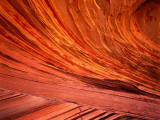 Detail of Swirl Patterns in Weathered Navajo Sandstone