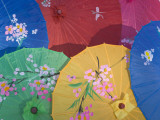 China  Colorful Silk Umbrellas