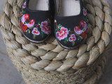 China  Colorful Embroidered Shoes
