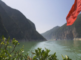 China  Yangtze River  Three Gorges  Kuimen  Entrance to the Qutang Gorge