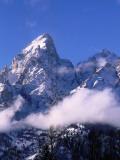 Teton Range in Early Winter