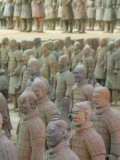 China  Shaanxi Province  Xian  Terra Cotta Warriors in Emperor Qinshihuangdi's Tomb