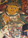 China  Tibet  Lhasa  Buddhist Painting in Drepung Monastery