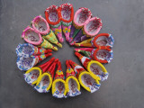 China  Traditional Colorful Embroidered Shoes for Bound Feet