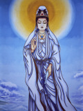 China  Painting of Guan Yin  Goddess of Mercy