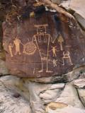 Petroglyph on Rock