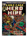 Marvel Comics Retro: Luke Cage  Hero for Hire Comic Book Cover 11(aged)