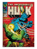 Marvel Comics Retro: The Incredible Hulk Comic Book Cover 110  with Umbu the Unliving (aged)