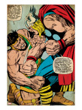 Marvel Comics Retro: Captain America Comic Panel  Hercules (aged)