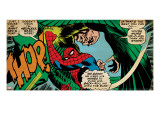 Marvel Comics Retro: The Amazing Spider-Man Comic Panel  the Vulture  Thop! (aged)