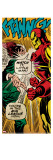 Marvel Comics Retro: The Invincible Iron Man Comic Panel  Fighting (aged)