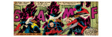 Marvel Comics Retro: X-Men Comic Panel  Nightcrawler (aged)