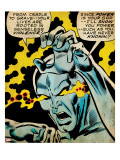 Marvel Comics Retro: Silver Surfer Comic Panel  Unleashing Power (aged)