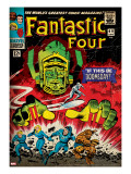 Marvel Comics Retro: Fantastic Four Family Comic Book Cover No49  If This Be Doomsday! (aged)