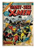 Marvel Comics Retro: The X-Men Comic Book Cover No1 (aged)