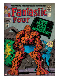 Marvel Comics Retro: Fantastic Four Family Comic Book Cover 51 (aged)