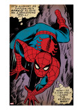 Marvel Comics Retro: The Amazing Spider-Man Comic Panel  Crawling (aged)