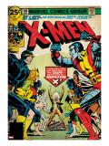 Marvel Comics Retro: The X-Men Comic Book Cover No100  Professor X (aged)