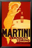 Martini & Rossi - Torino Affiche plastifiée encadrée