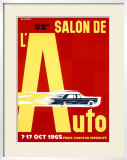 52nd Salon de l'Auto  1965