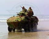 LAV-25 Light Armored Vehicle United States Marine Corps