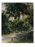 Une allée dans le jardin de Rueil