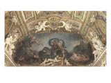 Galerie d'Apollon : Le Triomphe des eaux ou Neptune et Amphitrite