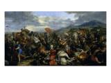 Alexandre le Grand  vainqueur de Darius à la bataille d'Arbelles (331 av J-C)