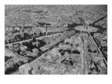 Vue aérienne de Paris prise depuis un ballon