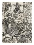 Apocalypse selon Saint Jean - La femme de soleil et le dragon à 7 têtes
