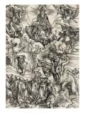 Apocalypse selon Saint Jean - Le monstre de sept têtes et la bête à cornes
