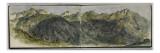 Album des Pyrénées : panorama de montagnes