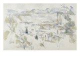 La cathédrale d'Aix Giclée par Paul Cézanne