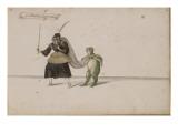 """Album; Ballet des Fées de la forêt de Saint Germain ; """"Guillemine la Quinteuse"""" et une grenouille"""