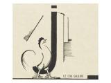 """""""le coq gaulois""""dessin d'Edward Steichen"""