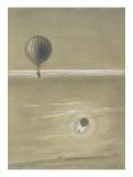 Voyage aérien de MM Albert et Gaston Tissandier  16 Février 1873