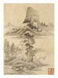 Album de huit feuilles : paysages