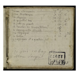 Album : Notes manuscrites