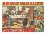 Ambassadeurs  les quatre Vendômes  blanchisserie musicale