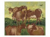 Les vaches  d&#39;apr&#232;s Jacob Jordaens et Van Ryssel