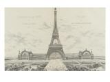 Projet pour l'Exposition Universelle de 1889