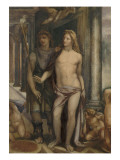Copie de la fresque du mariage (fragment) du Sodoma (Farnesine)