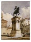 Statue équestre du Colleone de Verrochio à Venise  place San Giovanni et Paolo