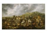 La défaite de Porus par Alexandre (1802)