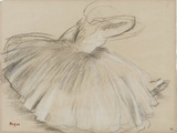 Danseuse penchée en avant Giclée par Edgar Degas