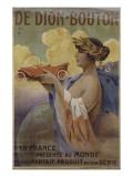 Affiche pour les automobiles De Dion-Bouton (imprimeur: les Editions nationales  Paris)