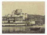 Constantinople  maisons sur le Bosphore